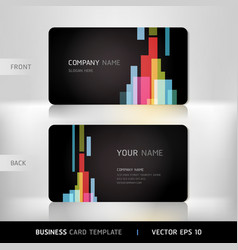 Abstract Business Card vector image