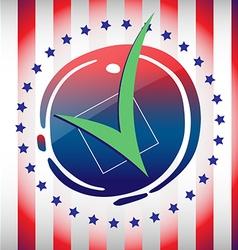Election campaign flyer vector