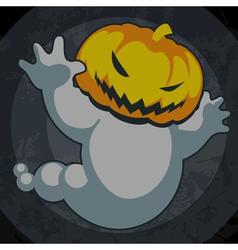Halloween spooky jack vector