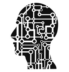 Human head circuit vector