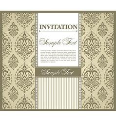 Invitation gretting card vector