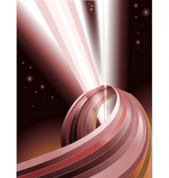 light rays vector image vector image