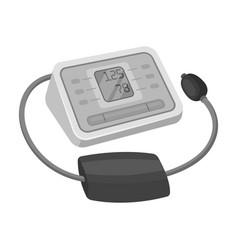 Medical tonometerold age single icon in vector