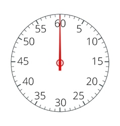 Stopwatch Stopwatch Icon Stopwatch icon flat vector image vector image