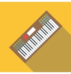Synth icon flat style vector