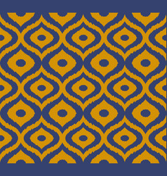 tribal seamless pattern hand drawn vector image vector image