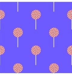 Sweet Candy Seamless Pattern vector image