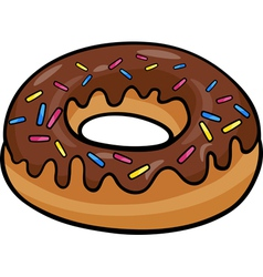 Donut clip art cartoon vector