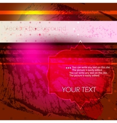 elegant abstract background with space for text vector image