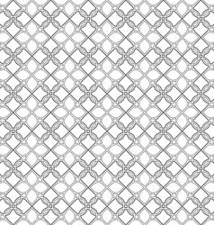 Delicate seamless stylized flower pattern in vector