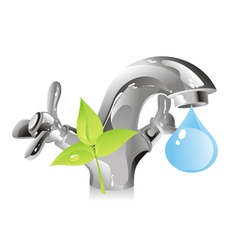 nature resource - water vector image