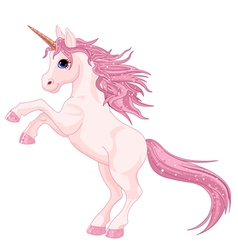 Magic unicorn vector
