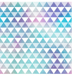 Bright triangles seamless pattern vector