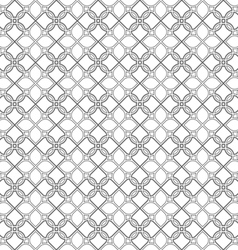 Delicate seamless stylized flower pattern in vector image vector image