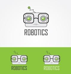 Robotics logo vector