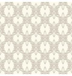 Vintage light pattern vector image vector image