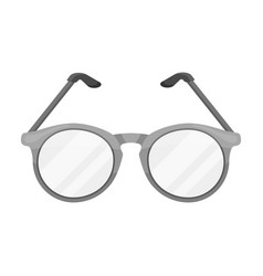 Glasses for sightold age single icon in vector