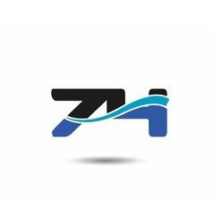 74th year anniversary design logo vector