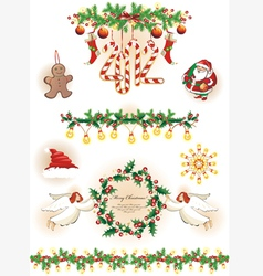 Christmas collection vector