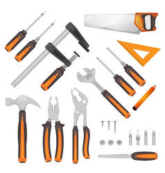 diy tools set vector image
