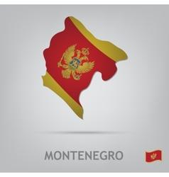 montenegro vector image