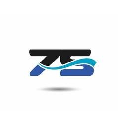 75th year anniversary design logo vector