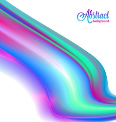 Abstract blurred colorful vibrant background vector image vector image