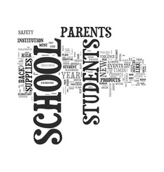back to school helpful supplies for students text vector image vector image
