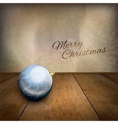 Blue Ball vector image