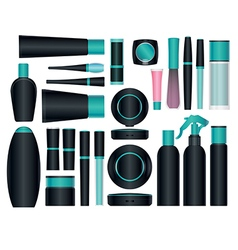 Cosmetics set 7 vector