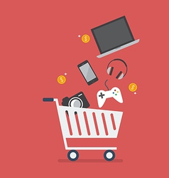Add gadgets to cart vector