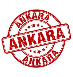Ankara stamp vector