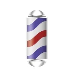 Barber pole icon vector