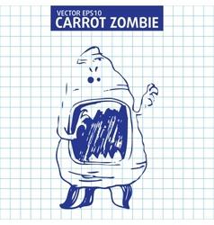Cute cartoon character sketch vector image vector image
