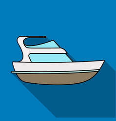expensive yacht for rich peopleyacht for vector image