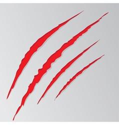 Grunge cat scratches5 vector