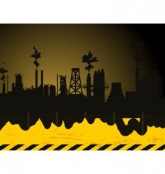 industrial city2 vector image