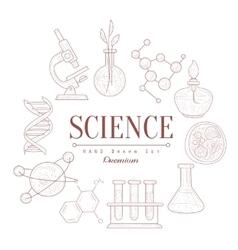 Science Vintage Sketch vector image vector image
