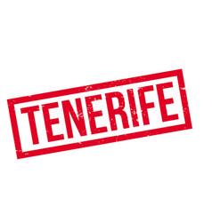 Tenerife rubber stamp vector
