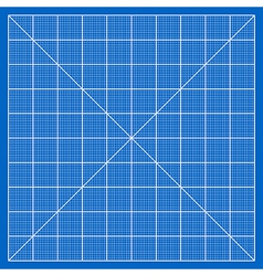Blueprint paper vector image