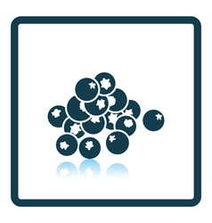 Icon of blueberry vector