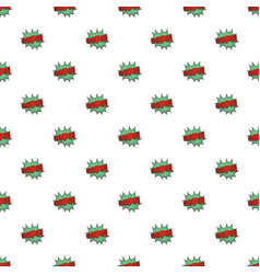 comic boom oops pattern seamless vector image vector image