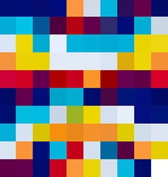 Colorful mosaic tile texture vector