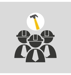 Construction tool icon vector