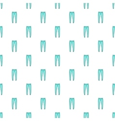 Men jeans pattern cartoon style vector image vector image