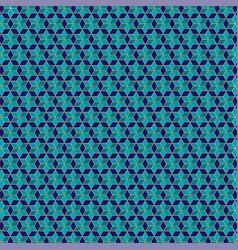 Small jewish star pattern vector