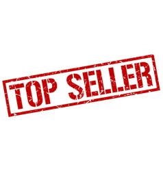 Top seller stamp vector