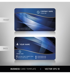 Business card abstract background vector