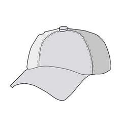 Baseball hat vector