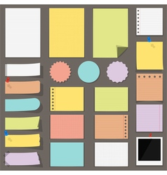 Flat Paper vector image